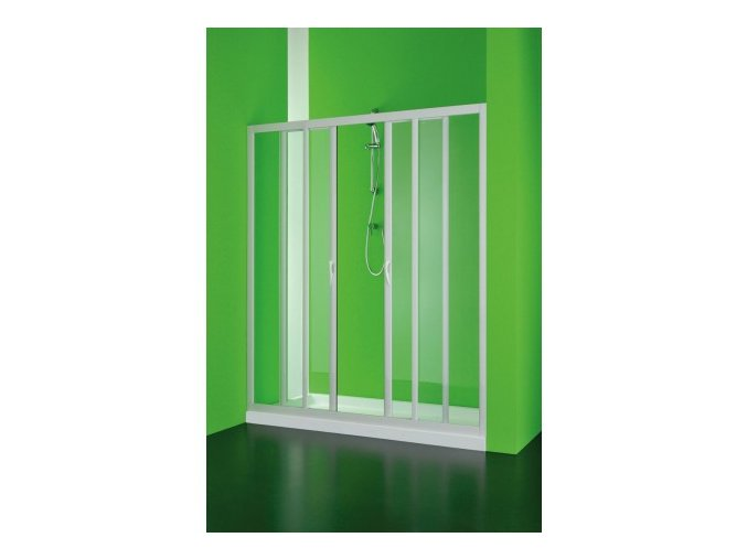 Sprchové dveře Maestro centrale 140–130 × 185 cm (Výplň čiré) | czkoupelna.cz