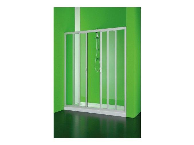 Sprchové dveře Maestro centrale 150–140 × 185 cm (Výplň čiré)   czkoupelna.cz