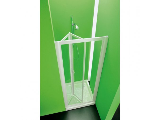 Sprchová zástěna Domino 86–91 × 185 cm (Výplň čiré)