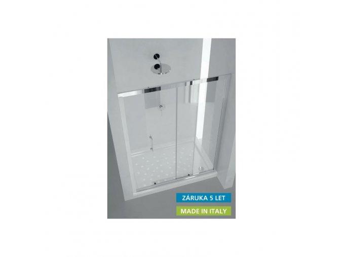 Sprchové dveře HOPA MAYA 122–130 × 190 cm | czkoupelna