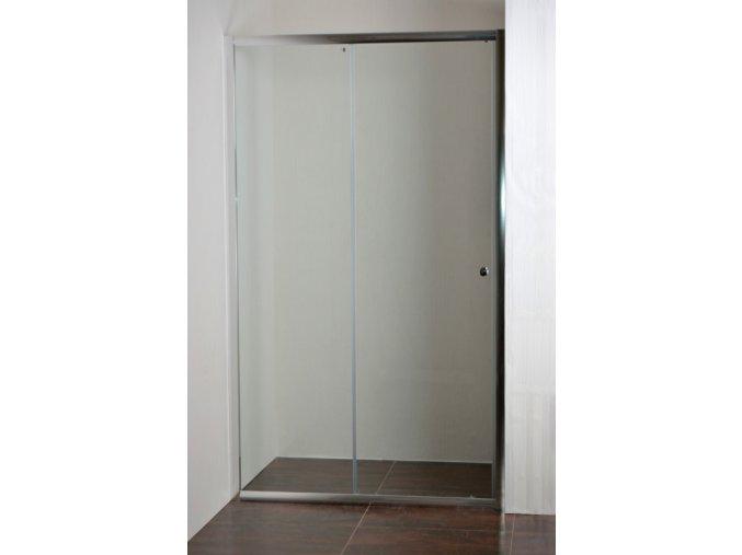 ONYX 130 NEW Sprchové posuvné dveře do niky 126 - 131 cm