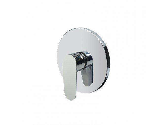 Sprchová baterie podomítková bez přepínače, Mbox, kulatý kryt, Viana, chrom (CBE60105A) | czkoupelna