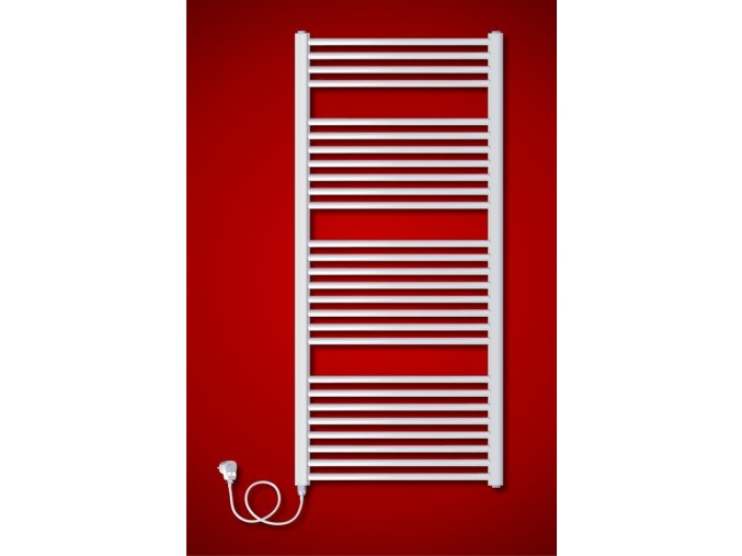 BKO.ES Koupelnový elektrický radiátor levý (Rozměr radiátoru 750 x 790 mm)