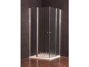 ELEGANT 90 chinchila NEW - Sprchová zástěna čtvercová  5mm tvrzené sklo,Easy Clean