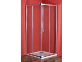 SMARAGD 90 clear NEW sprchový  set s vaničkou STONE