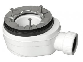 Vaničkový sifon, průměr otvoru 90 mm, DN40, nízký, pro FLEXIA,VARESA,LUSSA,ARENA