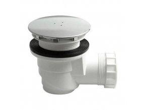 Vaničkový sifon, průměr otvoru 60 mm, DN40, krytka chrom, pro keramické vaničky