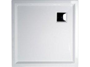 AVELIN sprchová vanička akrylátová, čtverec 90x90x4cm