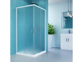 Sprchový kout, Kora, čtverec, 90 cm | czkoupelna