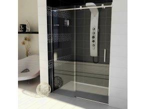DRAGON sprchové dveře 1600mm, čiré sklo | czkoupelna.cz