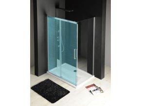 FONDURA boční stěna 900mm, čiré sklo | czkoupelna