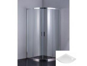 Sprchový kout 90x90cm ONE PLUS, sklo čiré nebo grape 6mm