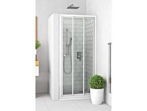 PD3N/900 - Sprchové dveře posuvné s oboustranným vstupem