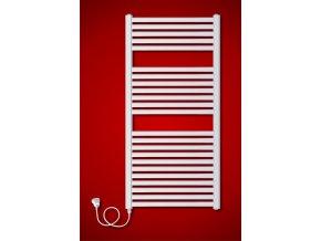 BKM.ES Koupelnový elektrický radiátor levý (Rozměr radiátoru 900 x 783 mm)