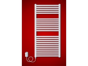 BKM.ER koupelnový elektrický radiátor 750 x 1815 mm, s regulátorem teploty (El. vývod Pravé provedení)