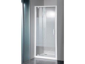ETERNO sprchové dveře 800mm, sklo STRIP | czkoupelna