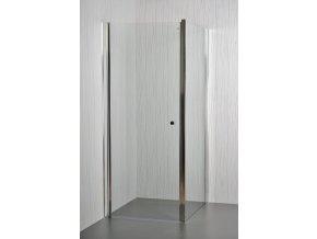 Arttec sprchové dveře MOON a SALOON P-50 chrome CLEAR  pevná boční stěna pro sprchové dveře 80 cm