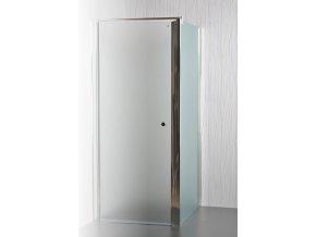 Arttec sprchové dveře MOON a SALOON P-50 chrome GRAPE NEW  pevná boční stěna pro sprchové dveře 90 cm