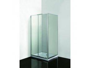 SMART SELVA+ PINA - obdélníkový kout s vaničkou, sklo čiré 6mm