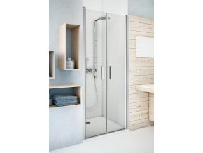 TCN2/1000 Dvoukřídlé sprchové dveře