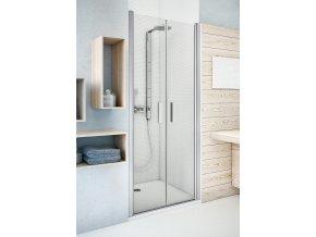 TCN2/800 Dvoukřídlé sprchové dveře