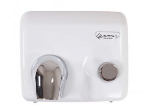 Vysoušeč rukou Jet Dryer BUTTON bílý