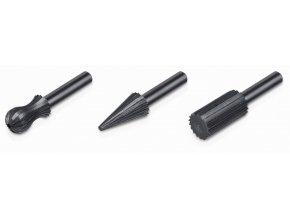 KRT017005 - Profilované vrtáky do kovu a dřeva SET 3 ks