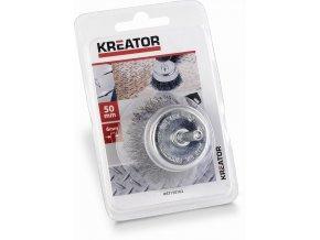 KRT150102 - Ocleový kartáč na vrtačky 50mm