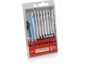 KRT041090 - 10 ks Pilových plátků kombinované užití