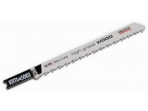 KRT045003 - 2 ks BD Pilových plátků na dřevo 100/10