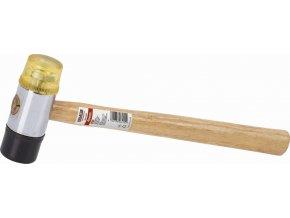 KRT904007 - Gumová/plastová palice 40mm - Dřevěná násada