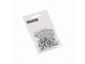 KRT616103 - Kroužky hliník 4mm 100ks