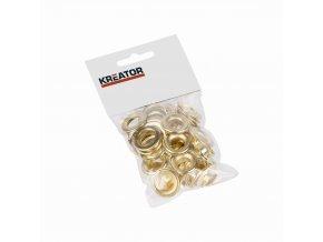 KRT616110 - Kroužky mosaz 12,5mm 25ks