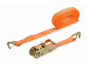 KRT555005 - Upínací pás ráčnový s háky 480kg/5m