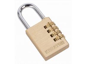 KRT557011 - Visací zámek kombinační 60mm čtyřmístný kód