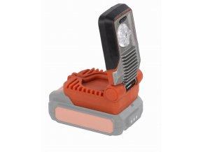 POWDP8010 - Aku LED svítilna 20V LI-ION 5W (bez baterie)  POWDP8010
