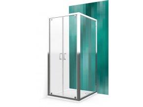 Pevná stěna pro sprchové dveře - LLB/80 cm-czkoupelna