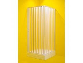 Čtvercová sprchová zástěna - 100-80 × 100-80× 185 cm, vstup 108 cm | czkoupelna