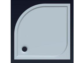 Sprchová vanička SEMI 90 HQ559R z litého mramoru