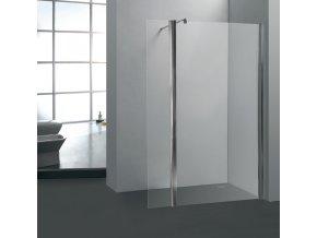 PRIME 100 clear NEW - Sprchová zástěna,30 cm otočný díl
