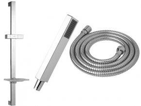 JIKA - Cubito sprchový set I - sprcha Cubito I s 1 funkcí, tyč, hadice 170 cm