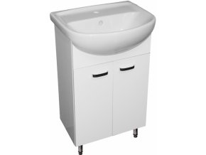 60 - Umyvadlová skříňka s keramickým umyvadlem