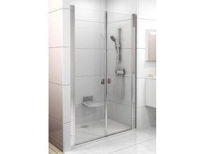 CSDL2-110 rám bílý+sklo Transparent 6mm