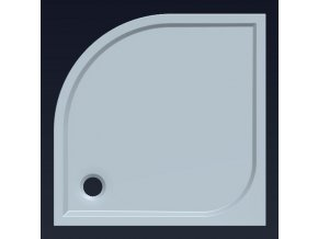 prchová vanička SEMI 80 HQ558R z litého mramoru