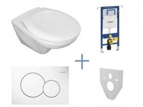 Geberit Duofix SPECIAL - SET pro závěsné WC + klozet Jika Dino a sedátko