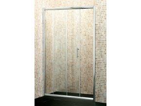 NICOL Exclusive 1400x1850mm sprchové dveře do niky