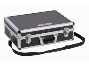 KRT640102B - Hliníkový kufr 460x330x155mm černý | czkoupelna