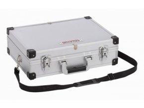 KRT640102S - Hliníkový kufr 460x330x155mm stříbrný | czkoupelna