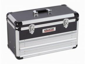KRT640602B - Hliníkový kufr 523x240x305mm 2 zásuvky | czkoupelna