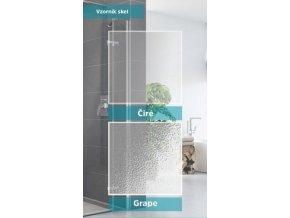 ROSS-Posuvné sprchové dveře ROSS Relax 110 | czkoupelna